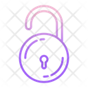 Unlock Lock Security Icon