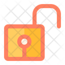 Unlock Security Protection Icon