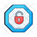 Padlock Private Lock Unlock Icon