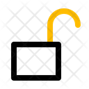 Unlock Security Access Icon