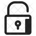 Unlock Padlock Security Icon