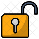 Interface Open Padlock Icon