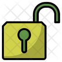 Interface Open Padlock Icon