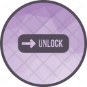 Unlock Slide Bar Icon