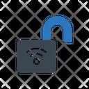 Wireless Unlock Access Icon
