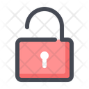 Unlock Padlock Unsecure Icon