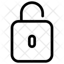 Unlock Padlock Ui Icon