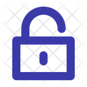 Unlock Unlocked Padlock Icon