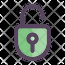 Unlock Padlock Security Icon