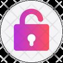 Interface Unlock Open Icon