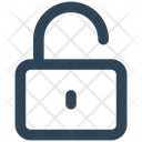 Unlock Unlocked Secure Icon
