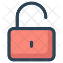 Unlock Unlocked Secure Icon