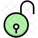 Business Financial Lock Icon