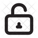Unlock Security Lock Icon