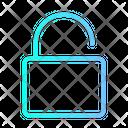 Unlock Security Lock Icon