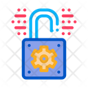 Open Padlock Software Icon