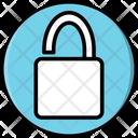 Unlock Padlock Password Icon