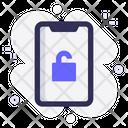 Mobile Unlock Security Icon