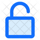 Unlock Open Security Icon