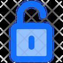 Unlock Access Interface Icon