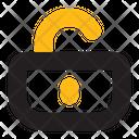 Unlock Security Secure Icon