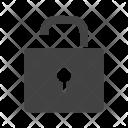 Unlock Open Lock Icon