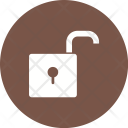 Unlock Unsafe Insecure Icon