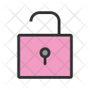 Open Lock Unlock Icon
