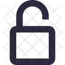 Unlock Access Lock Icon