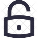 Lock Unlock Access Icon