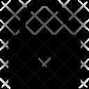 Unlock Lock Unsafe Icon
