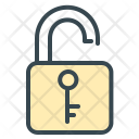 Security Unlock Protection Icon