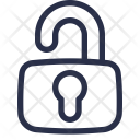 Lock Open Encrypted Icon