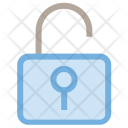 Safety Open Padlock Icon