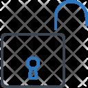 Open Unlock Lock Icon