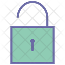 Lock Open Secure Security Icon