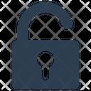 Password Key Unlock Icon