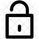 Unlock Unlocked Padlock Icon