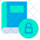 Unlock Book Icon