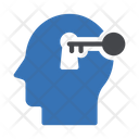 Unlock Brain Icon
