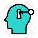 Unlock Key Access Icon