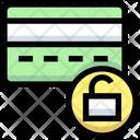 Unlock Card Atm Card Credit Card Icon