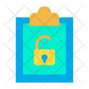 Unlock Clipboard Icon