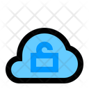 Unlock Cloud Network Icon