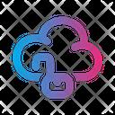 Unlock Cloud Icon