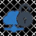 Unlock Cloud Network Icon