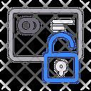 Unlock Credit Card Icon