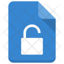 Unlock file Icon
