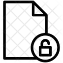 Lock Unlock Security Icon