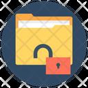 Unlock Folder Open Folder Folder Access Icon